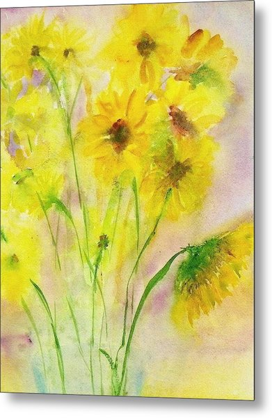 Hazy Summer Metal Print