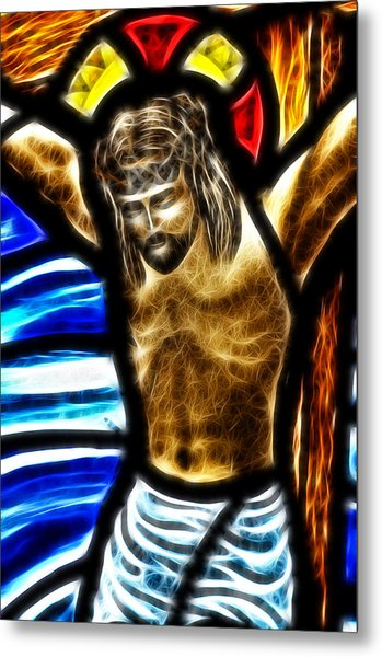 He Hung In There 2 Metal Print by Karen Showell