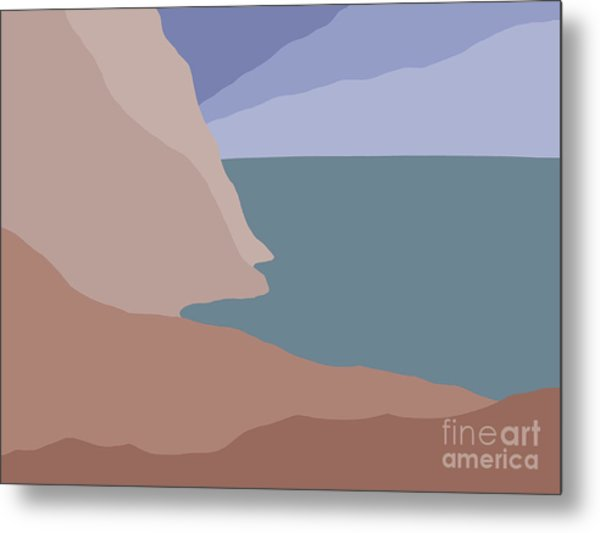 Headlands 3 Metal Print