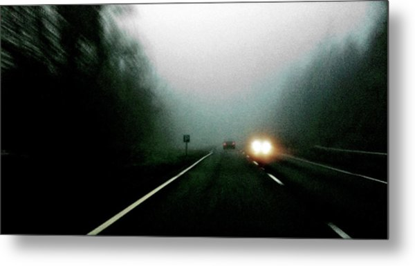 Headlights Metal Print