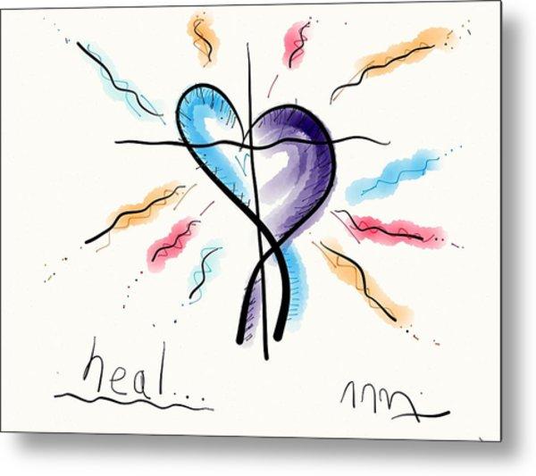 Heal... Metal Print