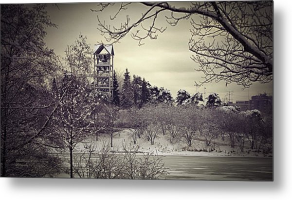 Hear The Carillon Bells Metal Print by Julie Palencia