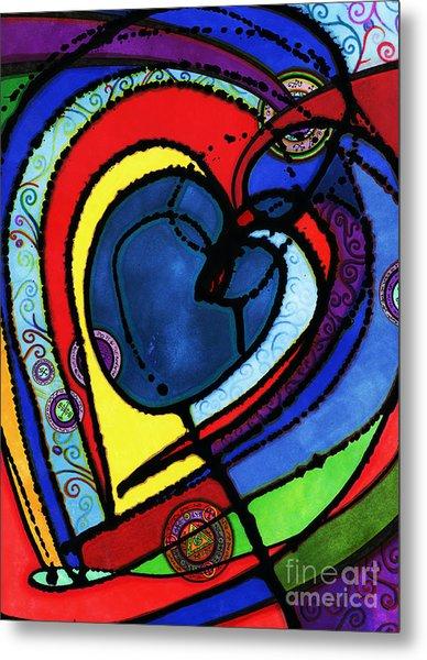 Heart II  Metal Print