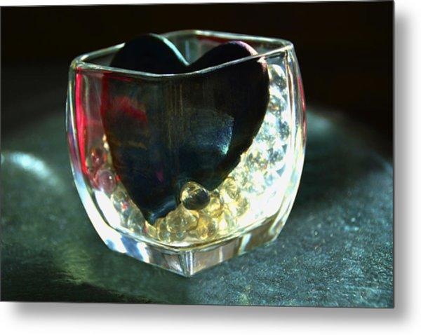 Heart Of Glass  #3  Metal Print