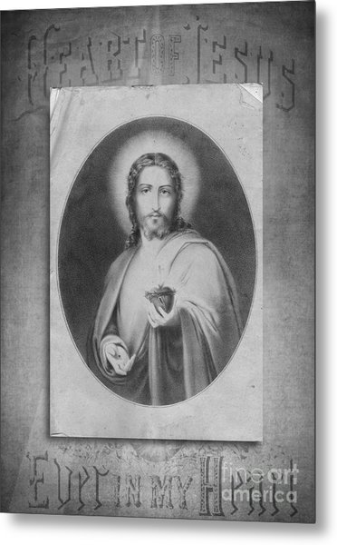 Heart Of Jesus Metal Print