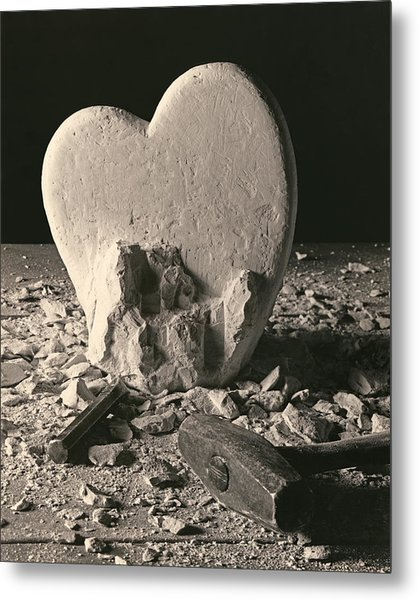 Heart Of Stone C1978 Metal Print