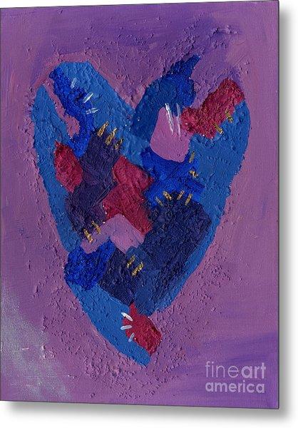 Healing Heart Metal Print