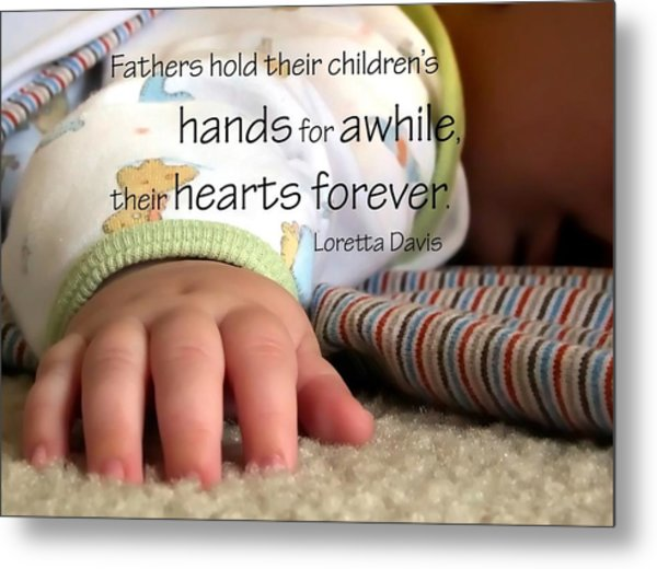 Hearts Forever 21203 Metal Print