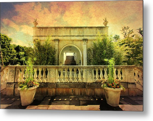 Heavenly Gardens Metal Print