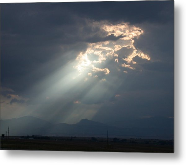 Heavenly Rays Metal Print