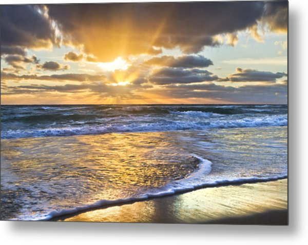 Heaven's Skylight Metal Print