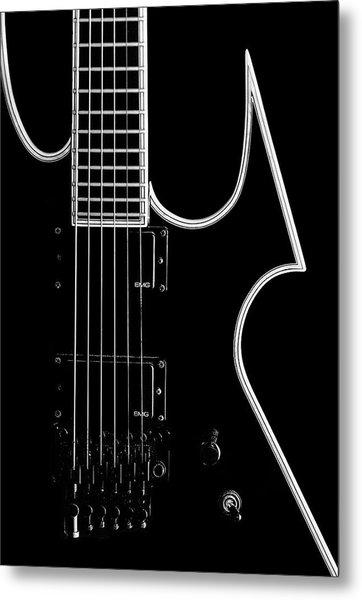 Heavy Metal Guitar Metal Print