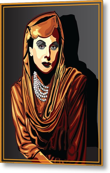 Hedy Lamarr  Hollywood The Golden Age Metal Print by Larry Butterworth