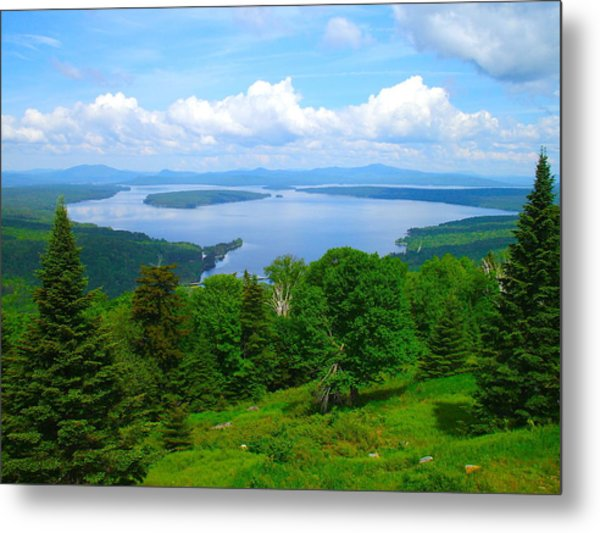 Height Of The Land A1 Metal Print
