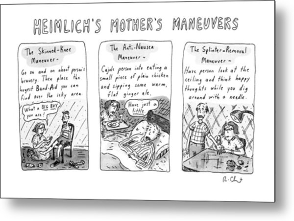 Heimlich's Mother's Maneuvers Metal Print