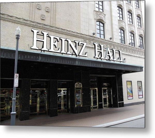Heinz Hall Metal Print