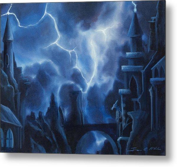 Heisenburg's Castle Metal Print