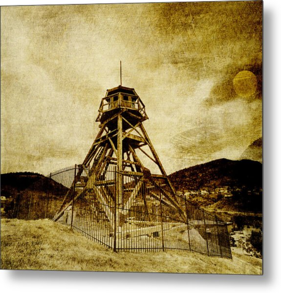 Helena-montana-fire Tower Metal Print