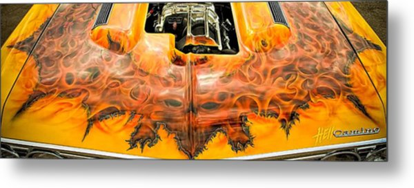 Metal Print featuring the photograph Hell Camino by Jeff Sinon