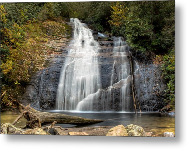 Helton Creek Falls Metal Print