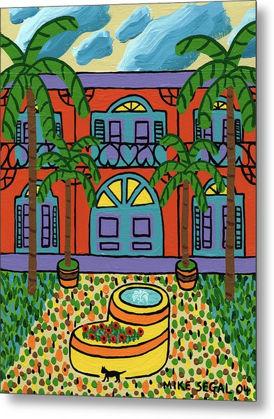 Hemingway House - Key West Metal Print