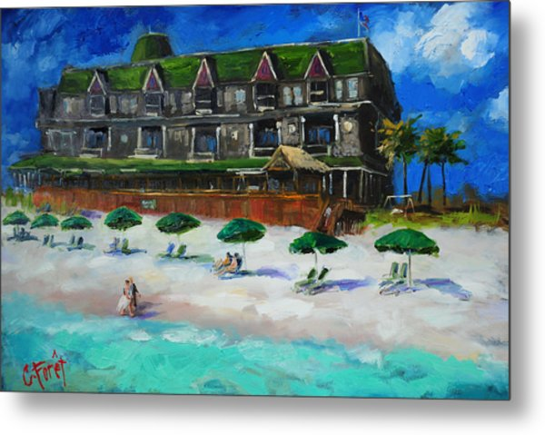 Henderson Inn Destin Florida Metal Print
