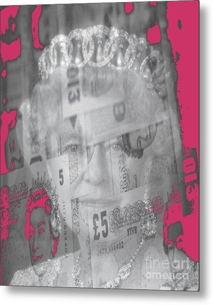 Her Majesty Queen Elisabeth Metal Print