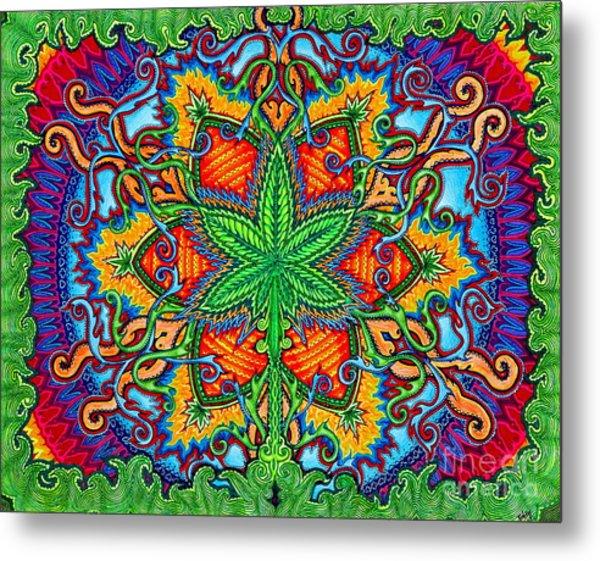Herbal Cure Metal Print