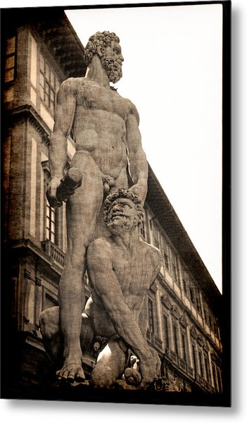 Hercules And Caucus In Florence Metal Print