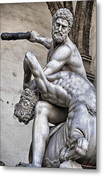 Hercules Killing The Centaur Metal Print