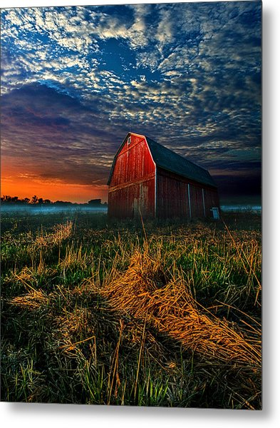Here Comes The Light Metal Print