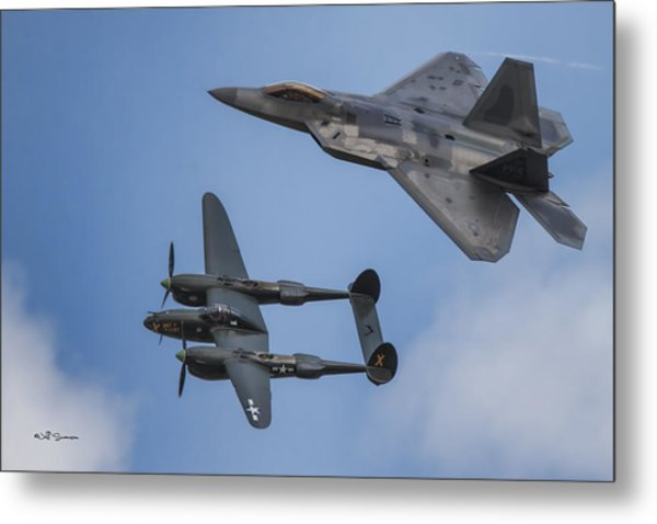 Here You Go Air Force Metal Print