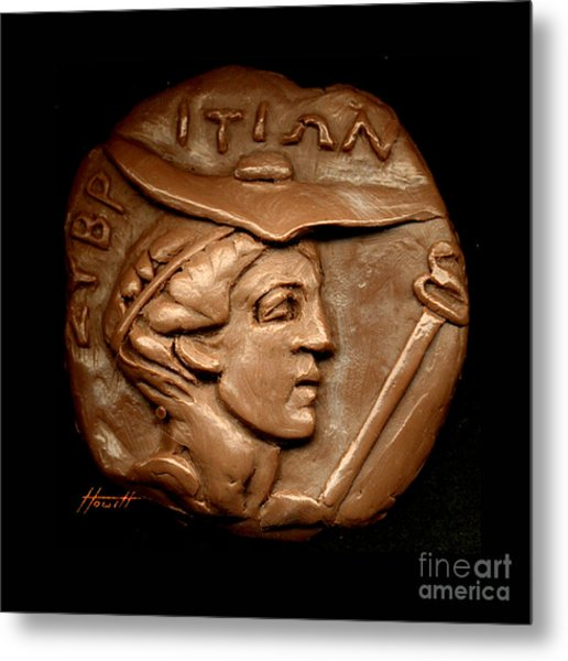 Hermes Or Mercury Metal Print by Patricia Howitt