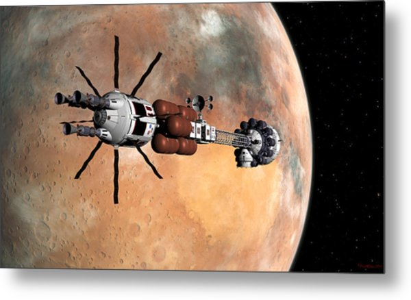 Hermes1 Mars Insertion Part 1 Metal Print