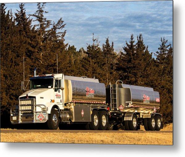 Hi-line Coop Tanker Metal Print