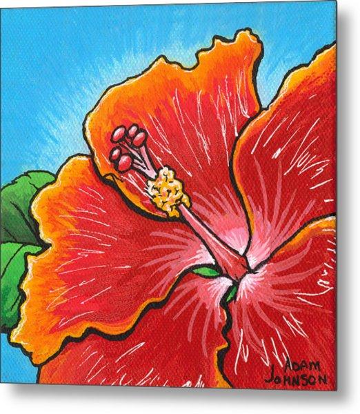 Hibiscus 06 Metal Print