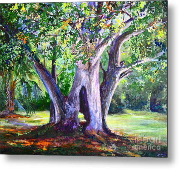 Hickory Hole Metal Print