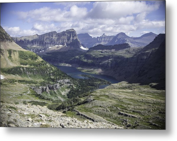 Hidden Lake Metal Print