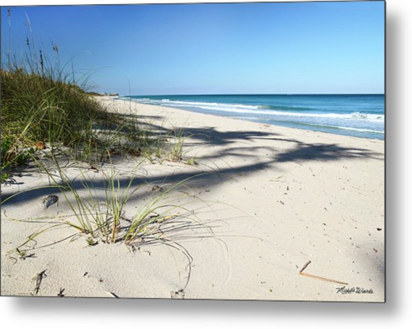 Hidden Palms Metal Print