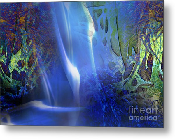 Hidden Streams Metal Print