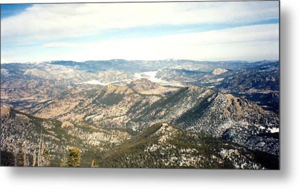 High Altitude View Metal Print