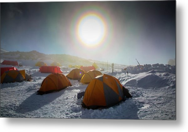 High Camp Metal Print by Peter J. Raymond