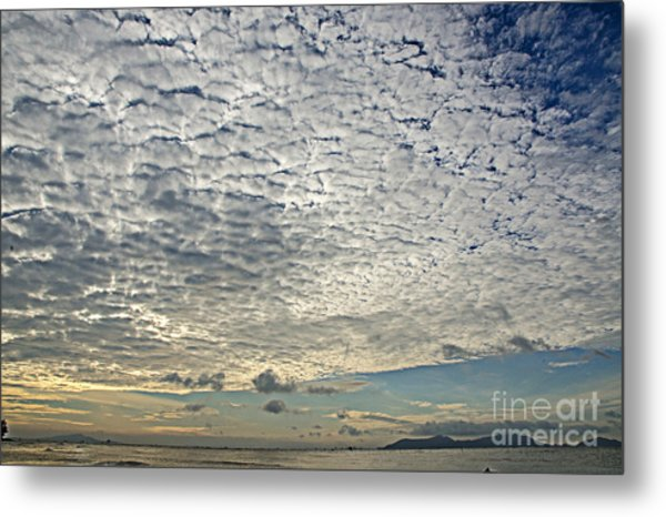 High Clouds Metal Print