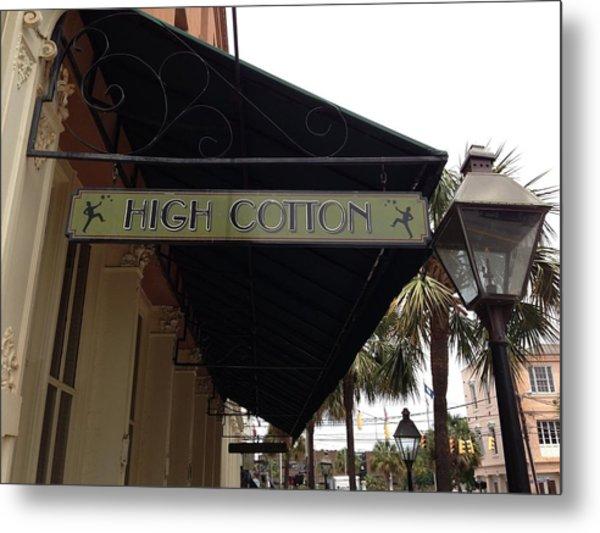 High Cotton Metal Print