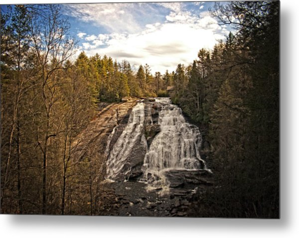 Metal Print featuring the photograph High Falls by Ben Shields
