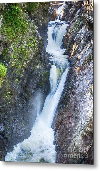 High Falls Gorge Metal Print