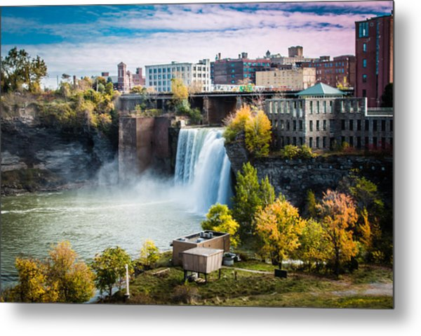 High Falls Rochester Metal Print