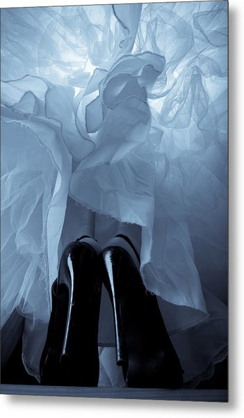 High Heels And Petticoats Metal Print