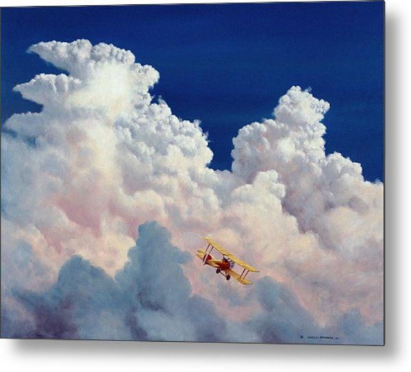 High In The Halls Of Freedom Metal Print