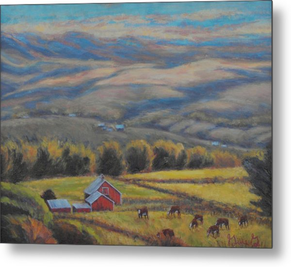 High On The West Slope Metal Print
